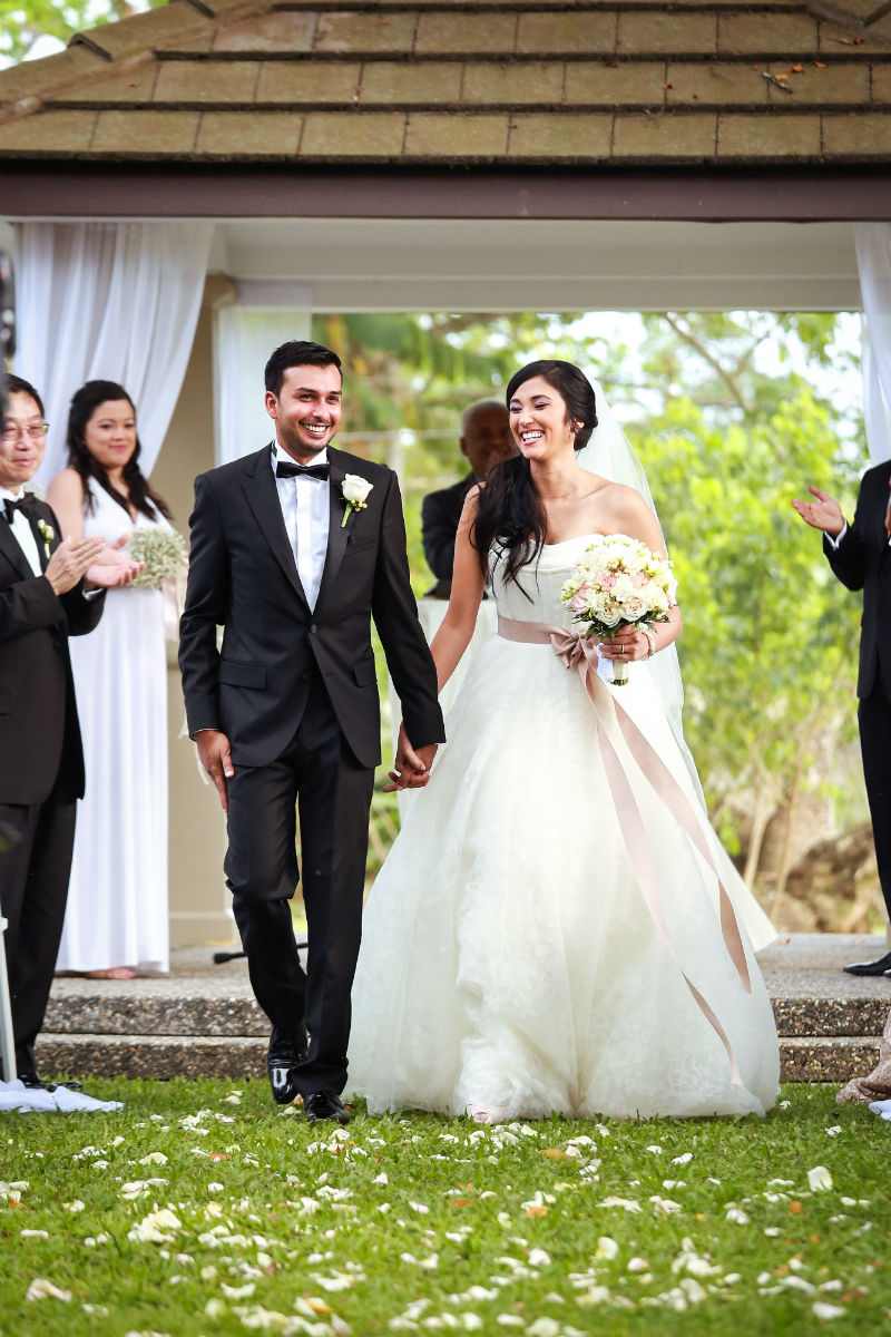 Trinidad Wedding, Garden Ceremony, Trinidad Wedding Venue