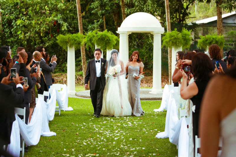 Trinidad Wedding Venue, Garden Ceremony, Drew Manor