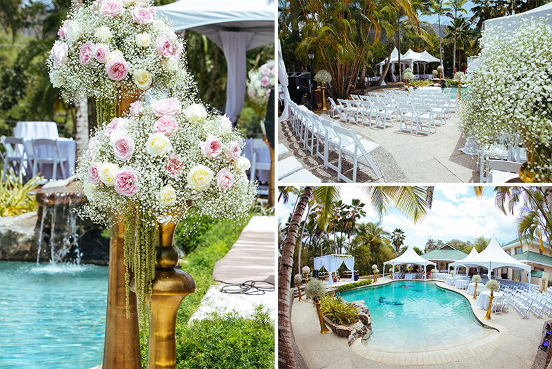 The Flower Bar- Trinidad Wedding